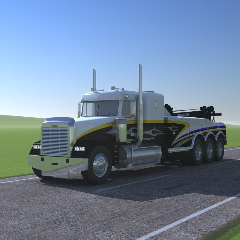 freightliner classic xl wrecker lwo
