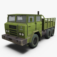 3d model of shaanxi sx2150 truck transporter