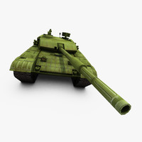 3d model ztz99 type 99 tank