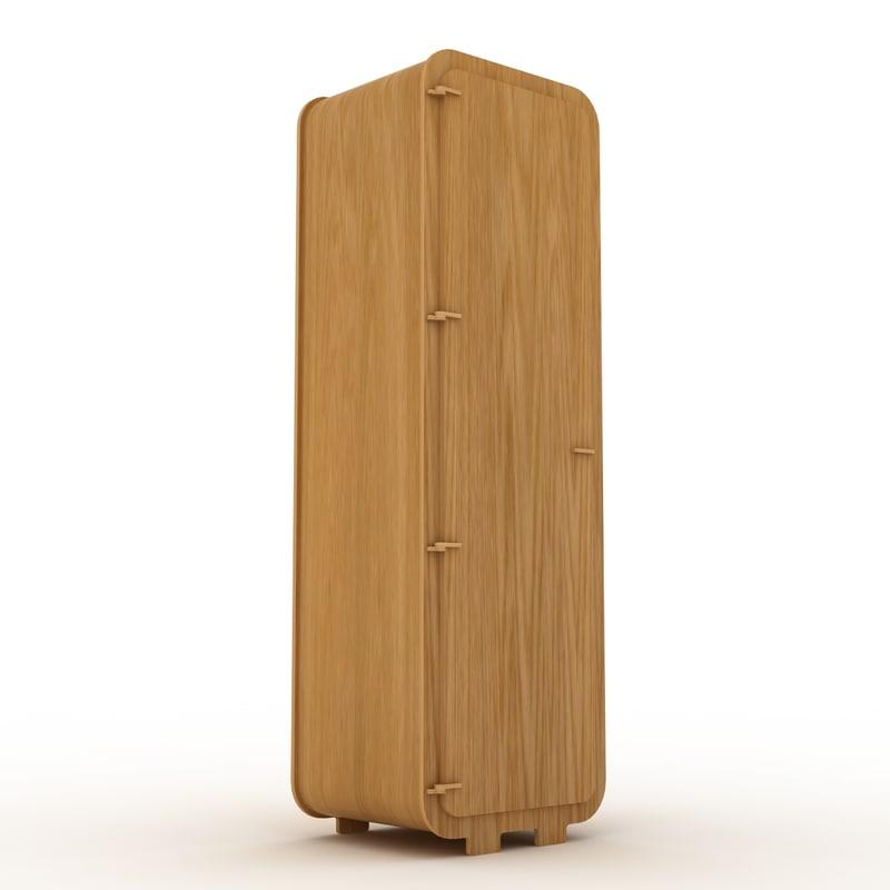 single wardrobe 3d model