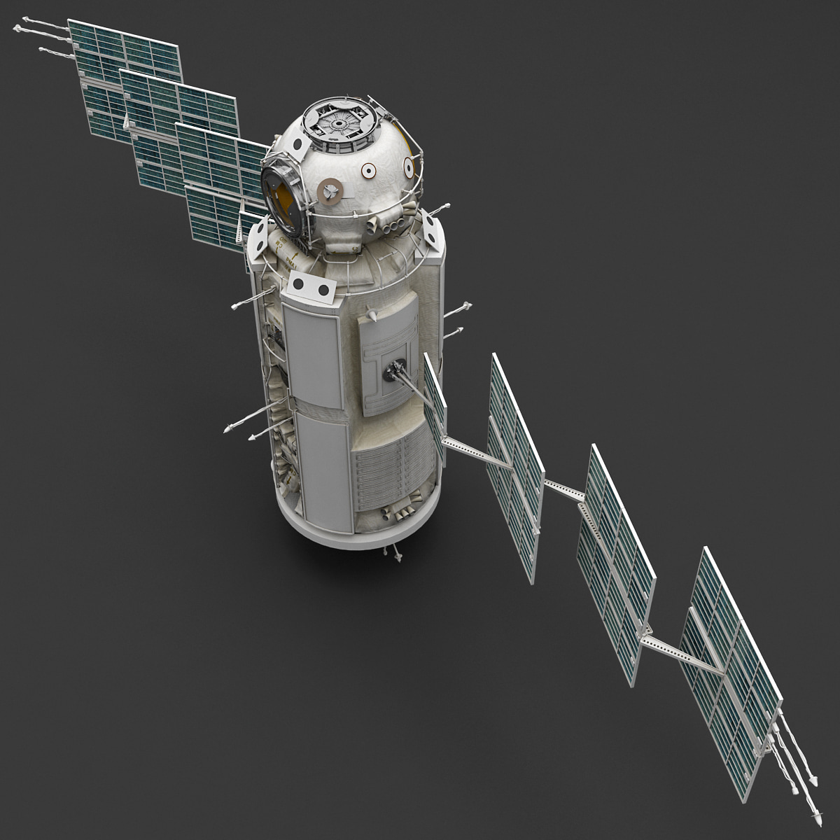 space functional cargo block 3d max