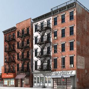 3dsmax city street new york