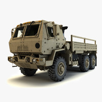 3dsmax oshkosh fmtv m1083 armored
