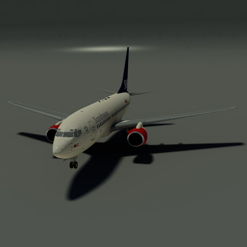 3d b 737-700 sas model