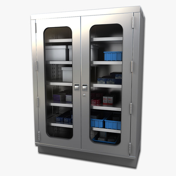 3ds max surgical cabinets