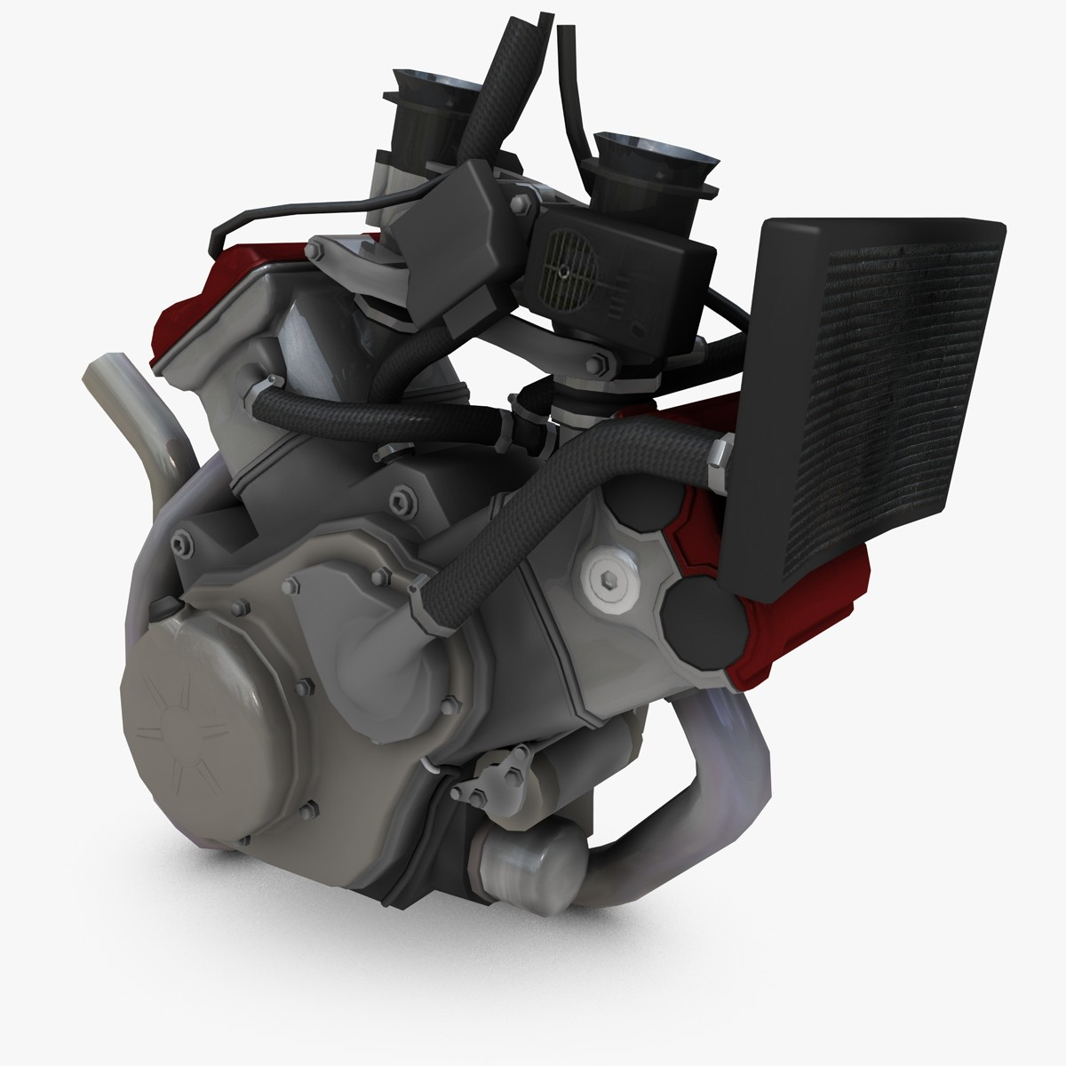 Motorcycle Engine 3D Models for Download | TurboSquid