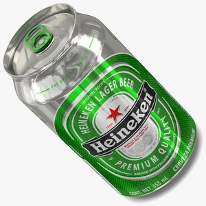 3d model heineken lighting