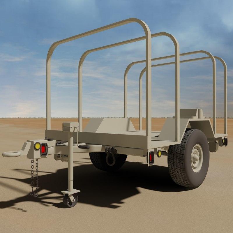 military mil6a2 3 4 3d model