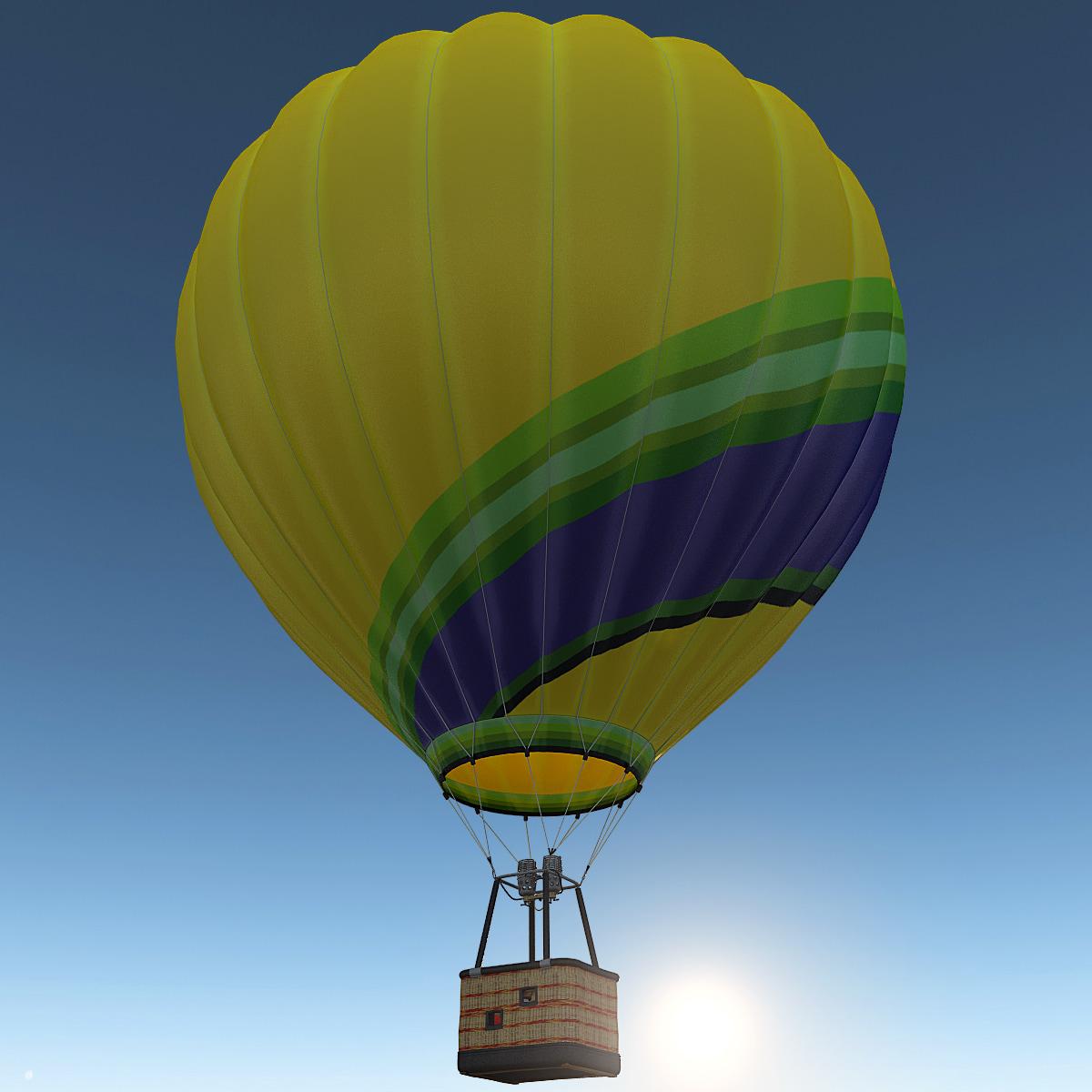air balloon 4 3d 3ds