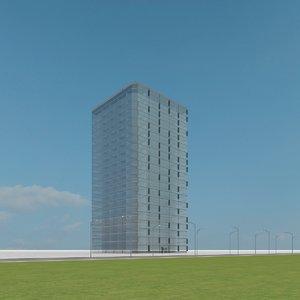 new skyscraper 10 3d max