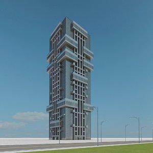 3d model of new skyscraper 05