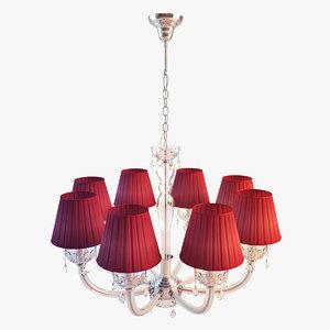modern chandeliers 3d max