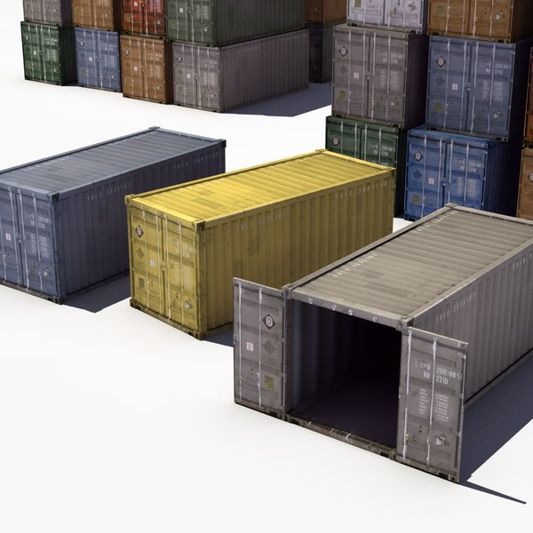 3ds stack iso shipping containers