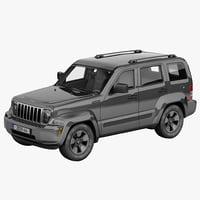 jeep liberty 3d model