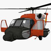 sikorsky hh 60 jayhawk 3d model