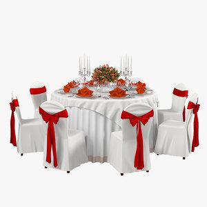 wedding table max