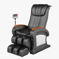 zhejiang doast massage chair 3d model