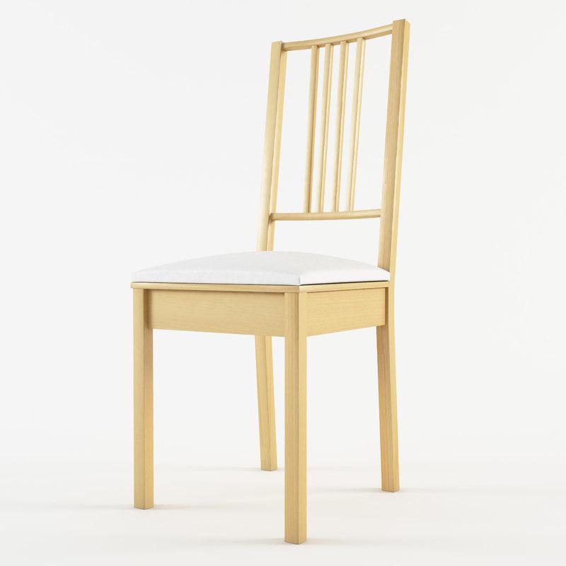 3d model of design chair