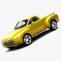 chevy ssr hardtop 3d model