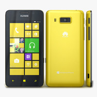 3d huawei ascend w2 yellow