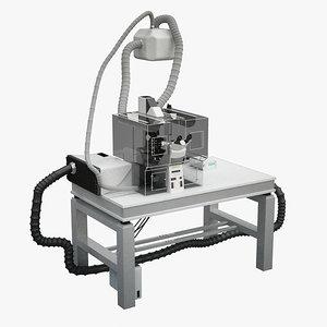 max microscope table