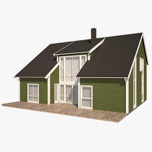 3d model nexus house siding