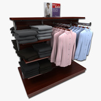 women s dress shirt 3d model