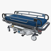 transport stretcher 3d max