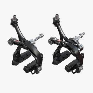 campagnolo skeleton brakes 3d max