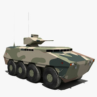 pars armoured carrier 3d max