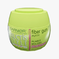 3d model garnier fructis style cream