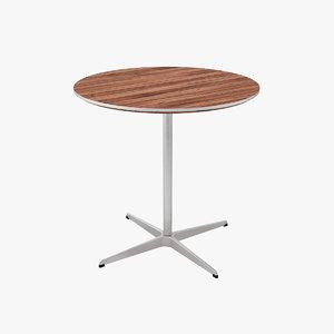3d max tables designed arne