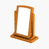 3d model bedside mirror
