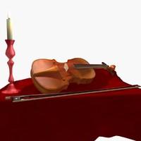 3dsmax life violin