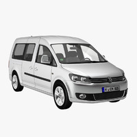 VW Caddy Maxi 2011