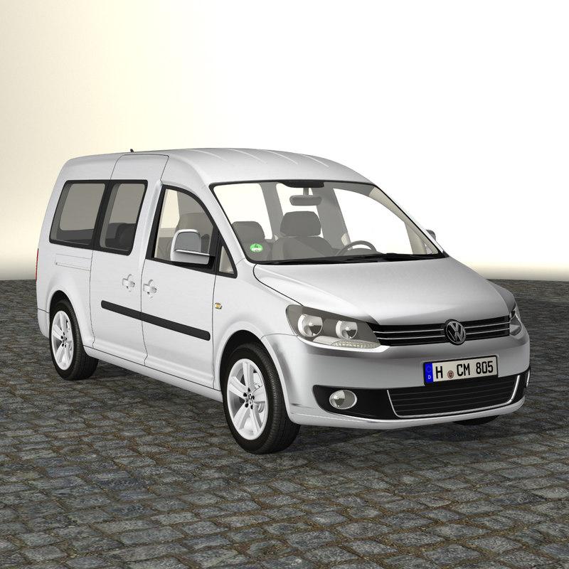 3d model caddy maxi