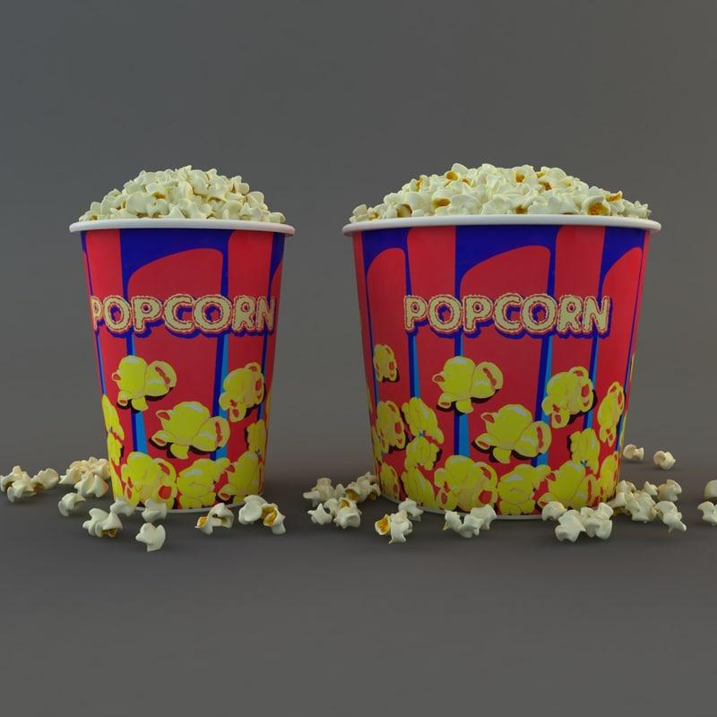 max popcorns tub