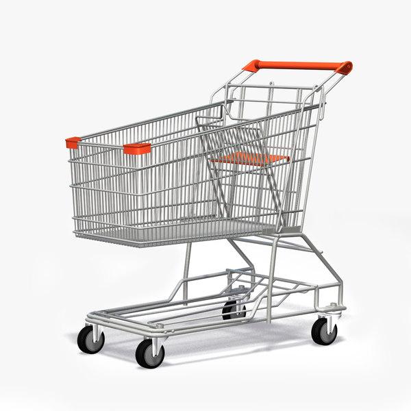 ping cart 3d max