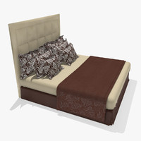 max realistic double bed