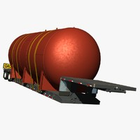 3d fontaine renegade lowboy trailer