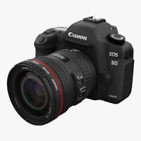 3d model canon eos 5d mark