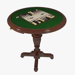 gambling table max