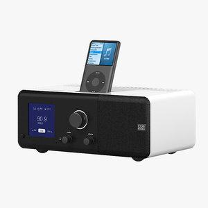 3dsmax cue acoustic table radio