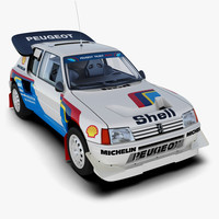 Peugeot 205 T16 Rally Car
