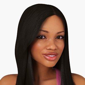 african woman character taisha max