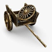3ds max cart ingame wheel
