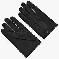 Horse Racing Gloves Black
