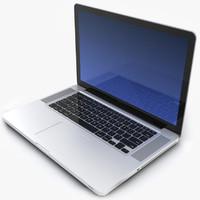 3d notebook apple macbookpro 15 model