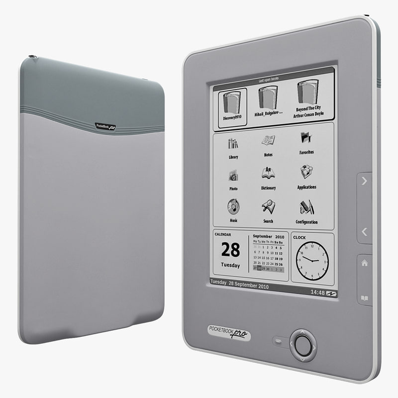 3d pocketbook pro 612 model