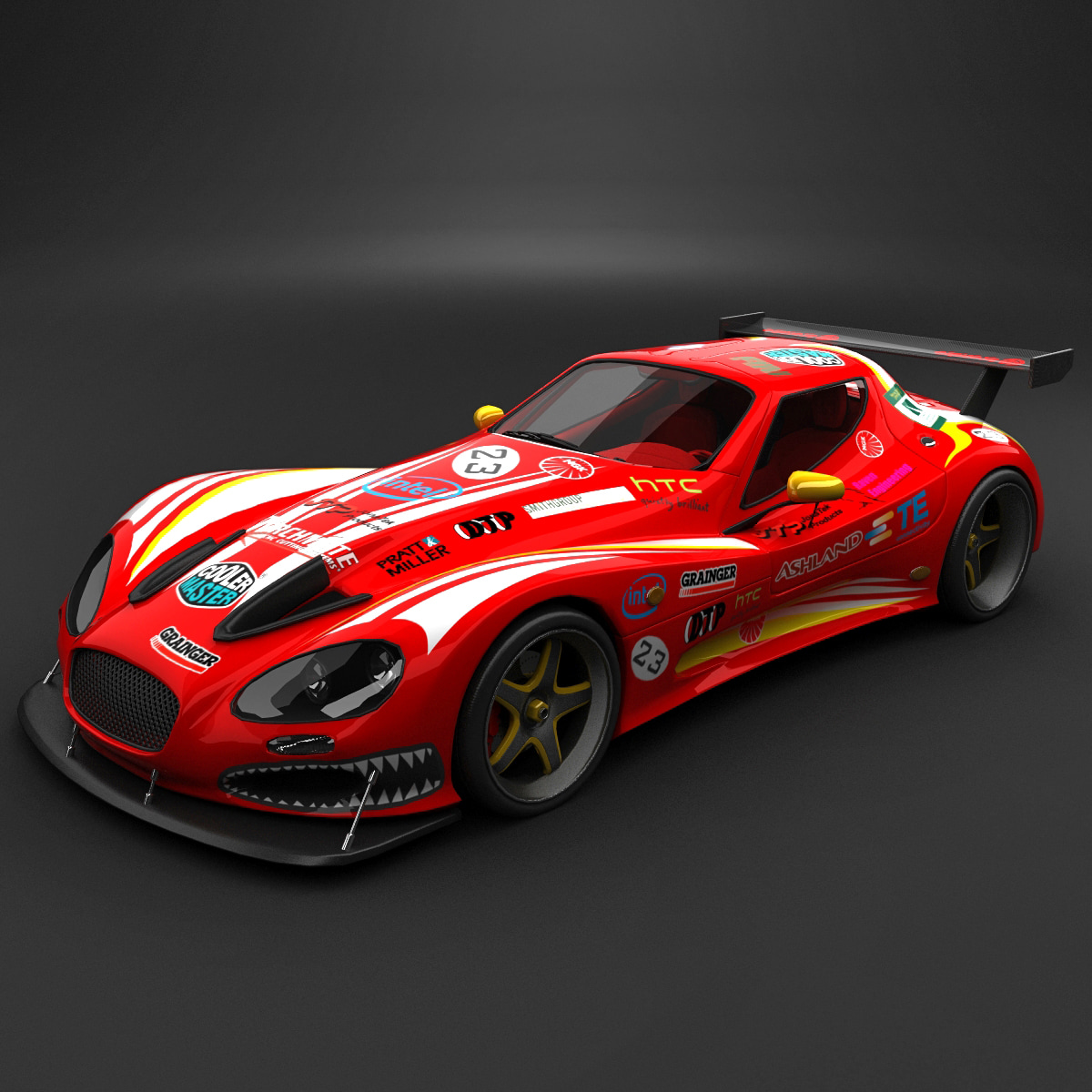 race car gillet vertigo 3d 3ds